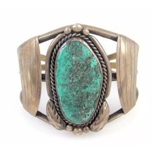 Authentic Turquoise cuff bracelet